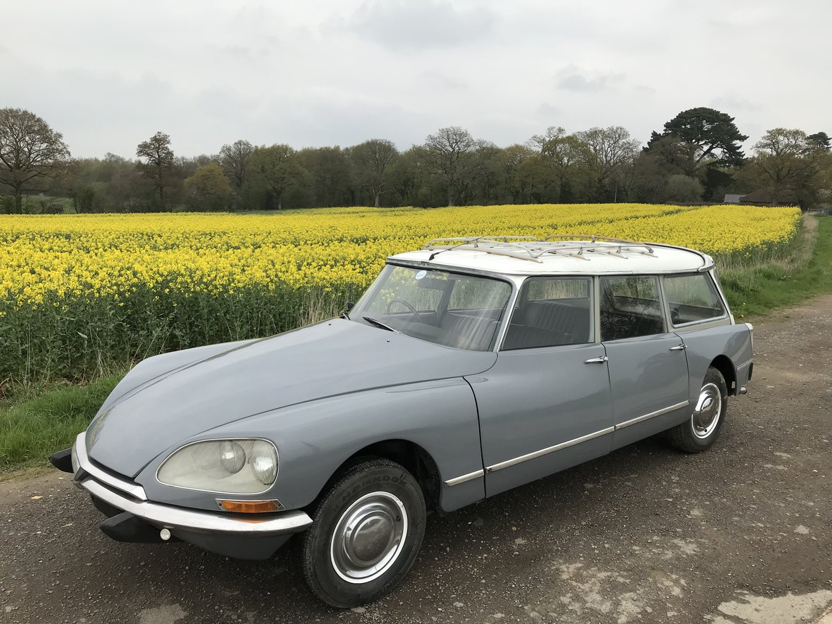 1969 Citroen Safari ID21 - RHD - RESERVED FOR ROB For Sale (picture 3 of 6)
