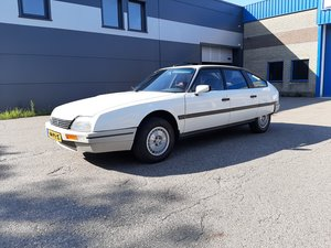 Picture of Citroen CX 2.0 1987 white 81000 documented km top condition! For Sale