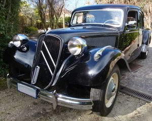 1955 Traction avant ,perfect, new engine.