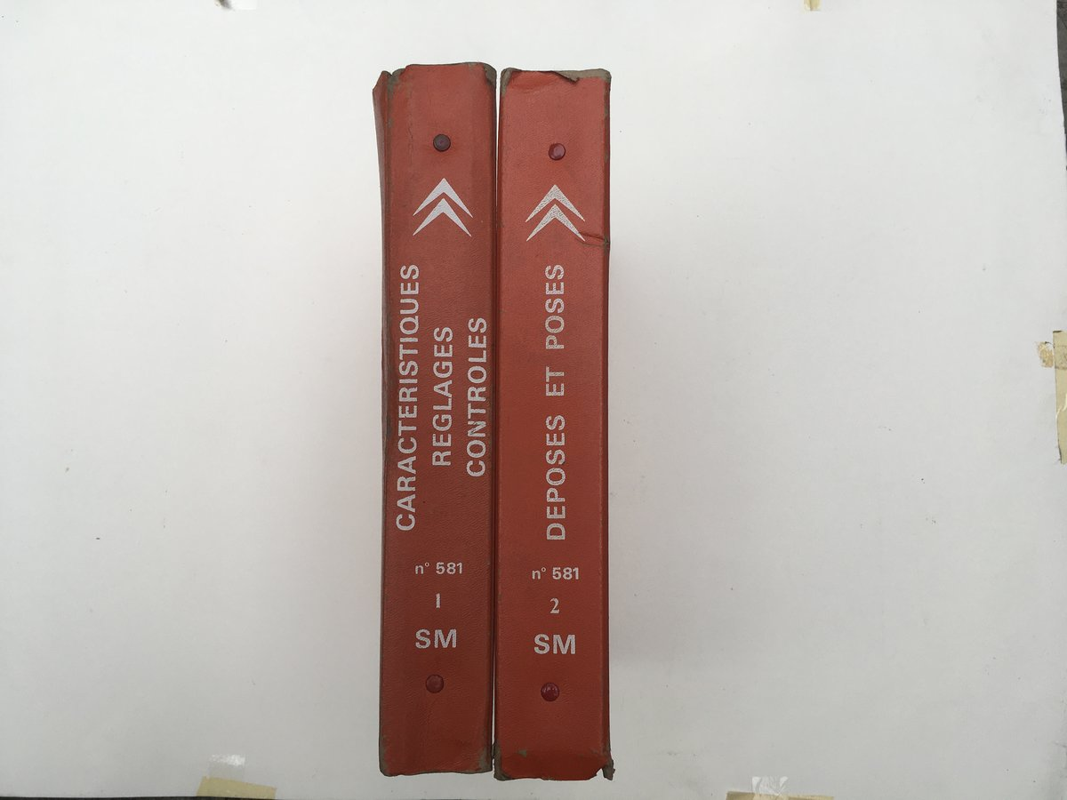 Citroen SM repair manuals For Sale by Auction (picture 1 of 5)