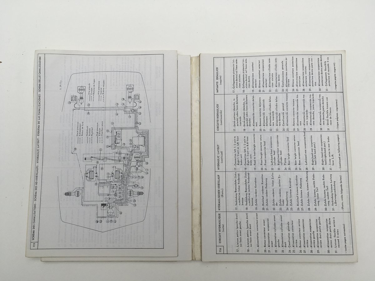 Technical Data Handbook in 5 languages For Sale by Auction (picture 4 of 6)