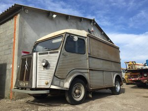 1966 HY van ideal food truck
