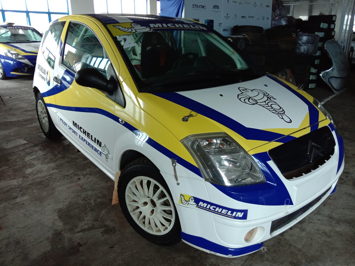 2009 Citroen C2 Rally Race Car Michelin LHD For Sale (picture 2 of 6)