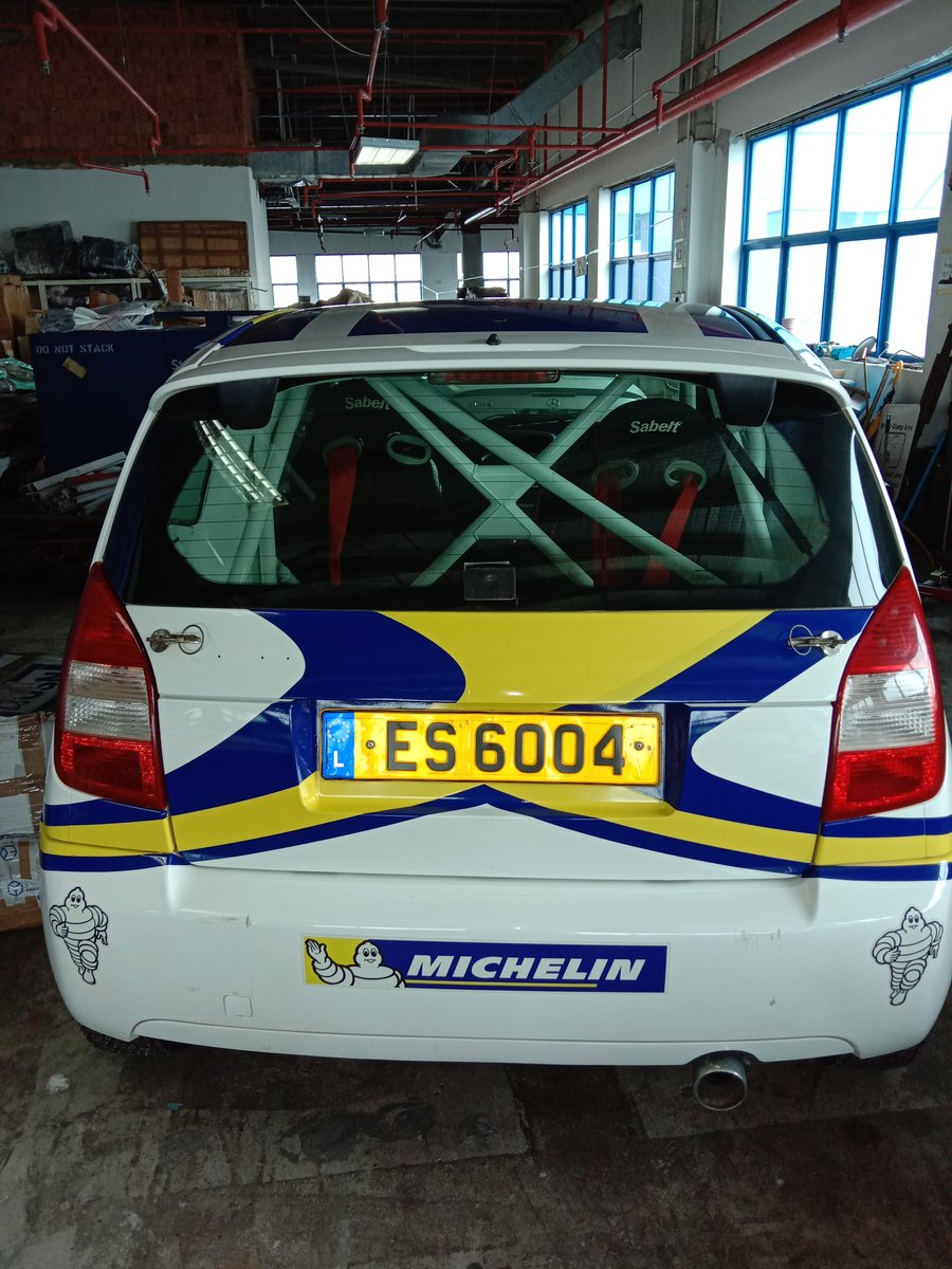 2009 Citroen C2 Rally Race Car Michelin LHD For Sale (picture 6 of 6)