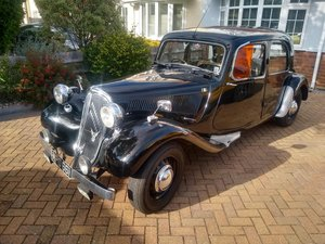 1951 Citroen Light 15 (Slough built) auction 16th/17th July SOLD by Auction