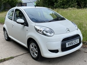 2011 61 Citroen C1 1.0 VTR+ Air Con, Bluetooth, alloys