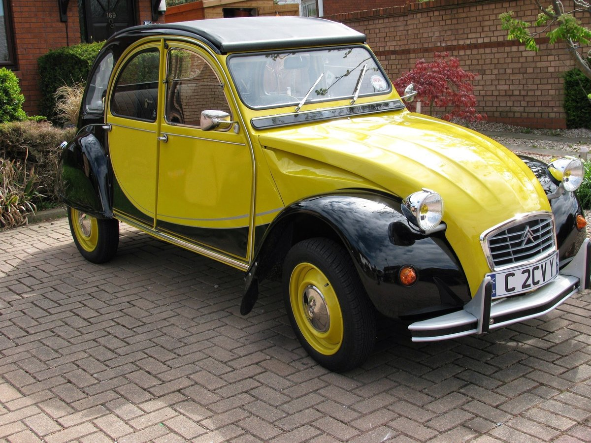 1985 Charlston 2CV rebuilt SOLD (picture 6 of 6)