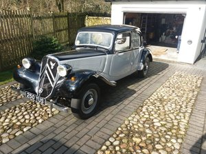 1953 Citroen Traction Imported to uk