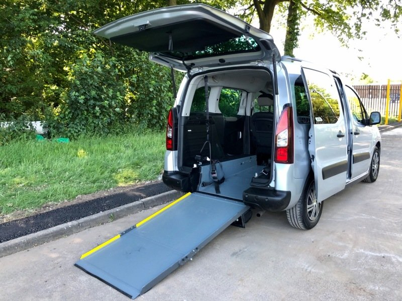2014 Citroen Berlingo Automatic - Wheelchair Access Vehicle - WAV For Sale (picture 1 of 6)
