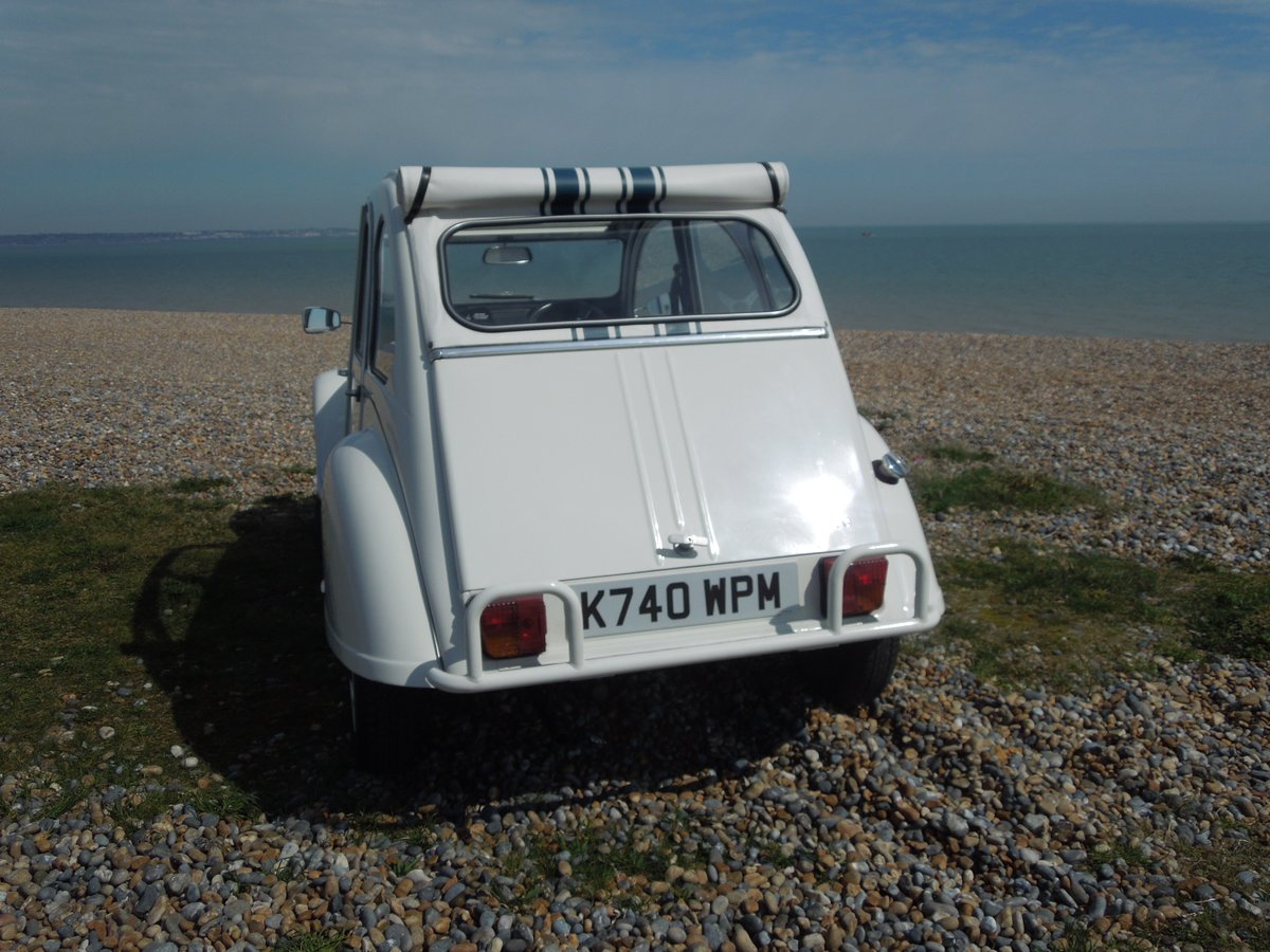 1992 Citroen 2CV 'Beachcomber' FULLY RESTORED  For Sale (picture 3 of 6)