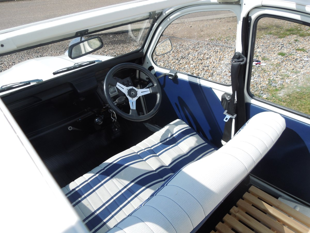 1992 Citroen 2CV 'Beachcomber' FULLY RESTORED  For Sale (picture 4 of 6)