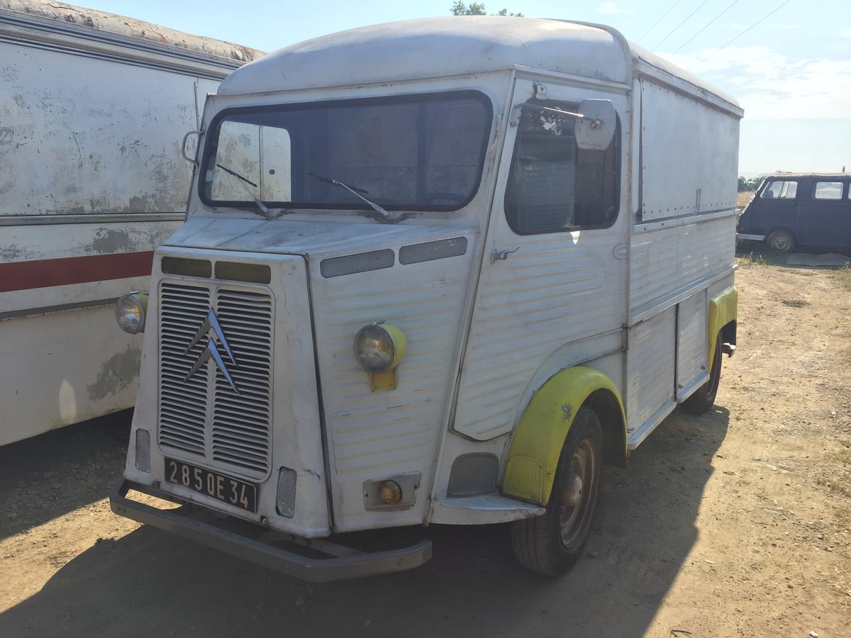 1973 Citroen HY food truck For Sale (picture 1 of 6)
