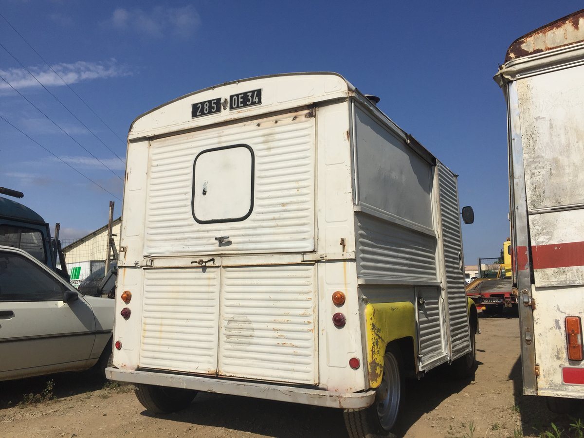 1973 Citroen HY food truck For Sale (picture 2 of 6)