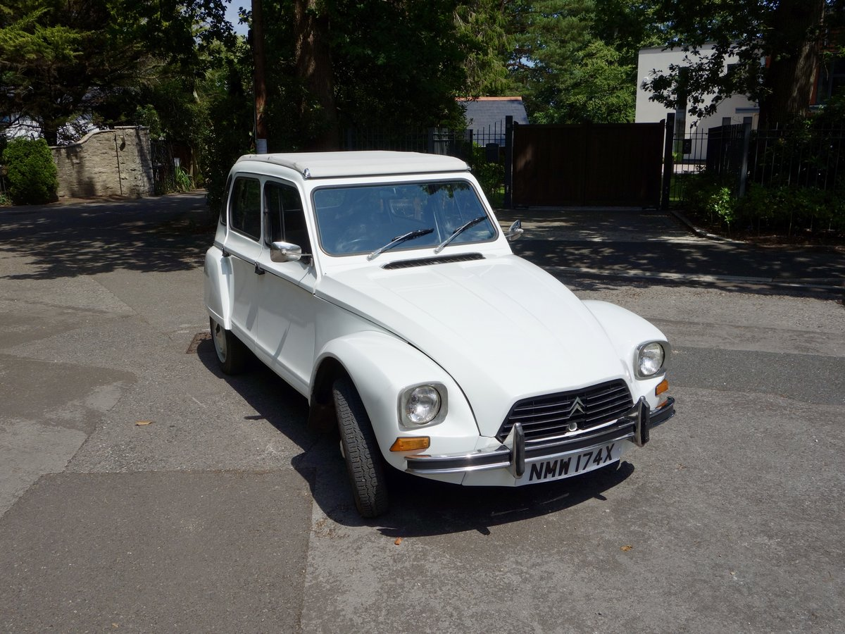 1982 Citroen Dyane 6  SOLD SOLD (picture 1 of 6)