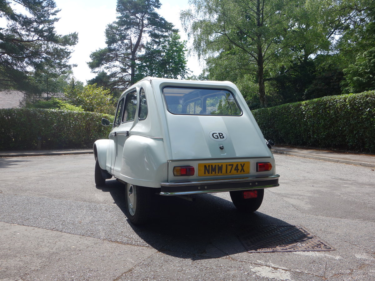 1982 Citroen Dyane 6  SOLD SOLD (picture 2 of 6)