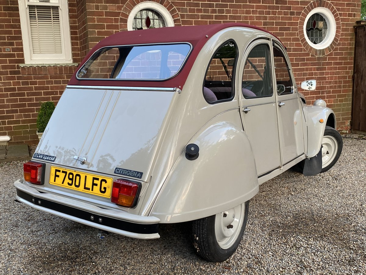 1989 CITROEN 2CV SPECIAL  - RESTORED BY 2CV CITY, LOVELY SOLD (picture 2 of 6)
