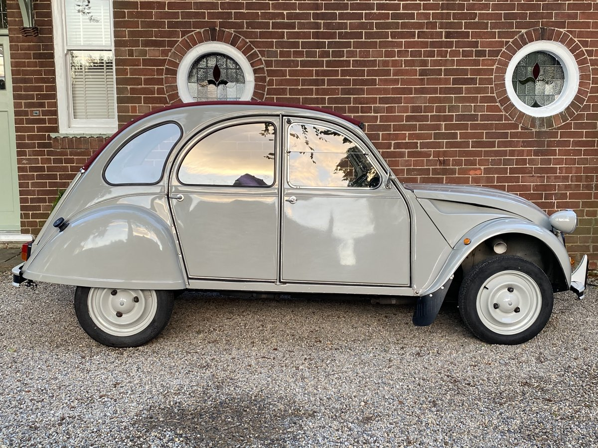 1989 CITROEN 2CV SPECIAL  - RESTORED BY 2CV CITY, LOVELY SOLD (picture 3 of 6)