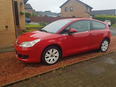 2008 Citroen C4 by Loeb, 74,000 miles, £1,900.00 SOLD (picture 3 of 6)
