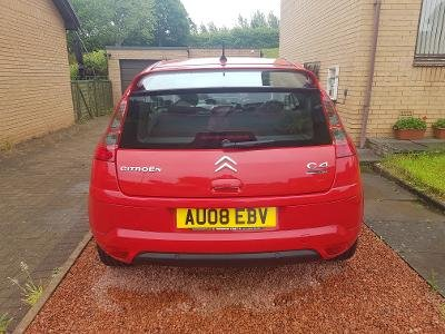 2008 Citroen C4 by Loeb, 74,000 miles, £1,900.00 SOLD (picture 4 of 6)
