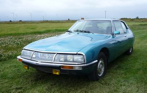1971 Citroen SM. Nice, well sorted, fuel injected.