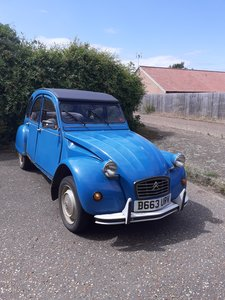 1984 2CV 6 Special Azure Blue For Sale