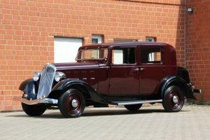 Citroën Rosalie 10 CV, 1934 SOLD