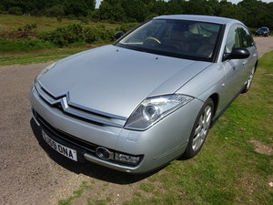 2009 (59) CITROEN C6 2.7 EXCLUSIVE, SILVER, MAGNOLIA LEATHER