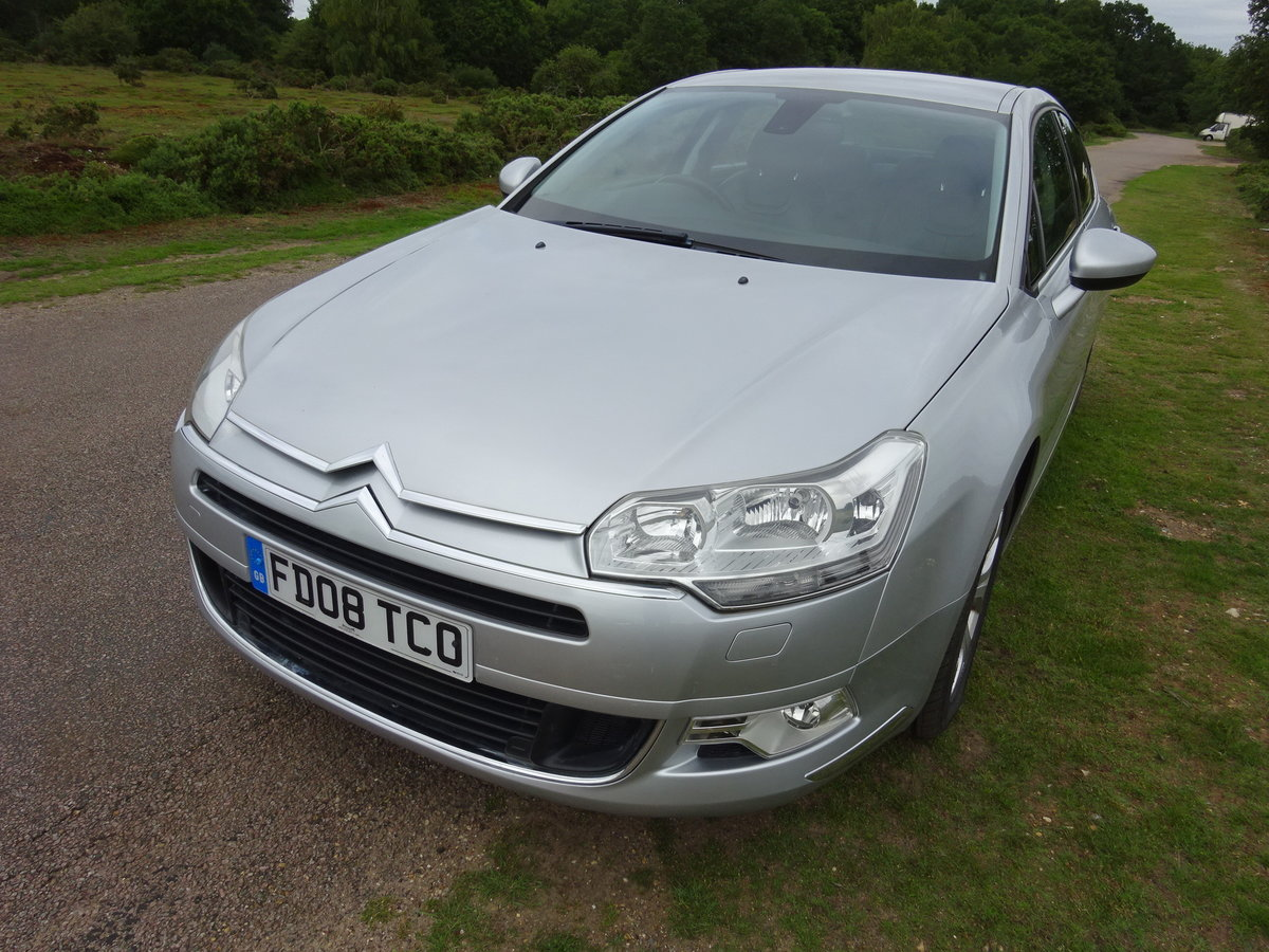 2008 Citroen C5 2.0i PETROL EXCLUSIVE AUTO - ONLY ONE IN UK! For Sale (picture 1 of 6)