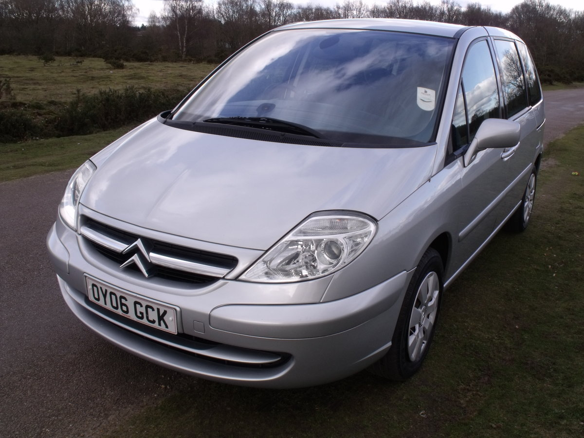 2006 (06) CITROEN C8 2.2HDi  7 SEATER A/C ELEC DOORS SOLD (picture 1 of 6)