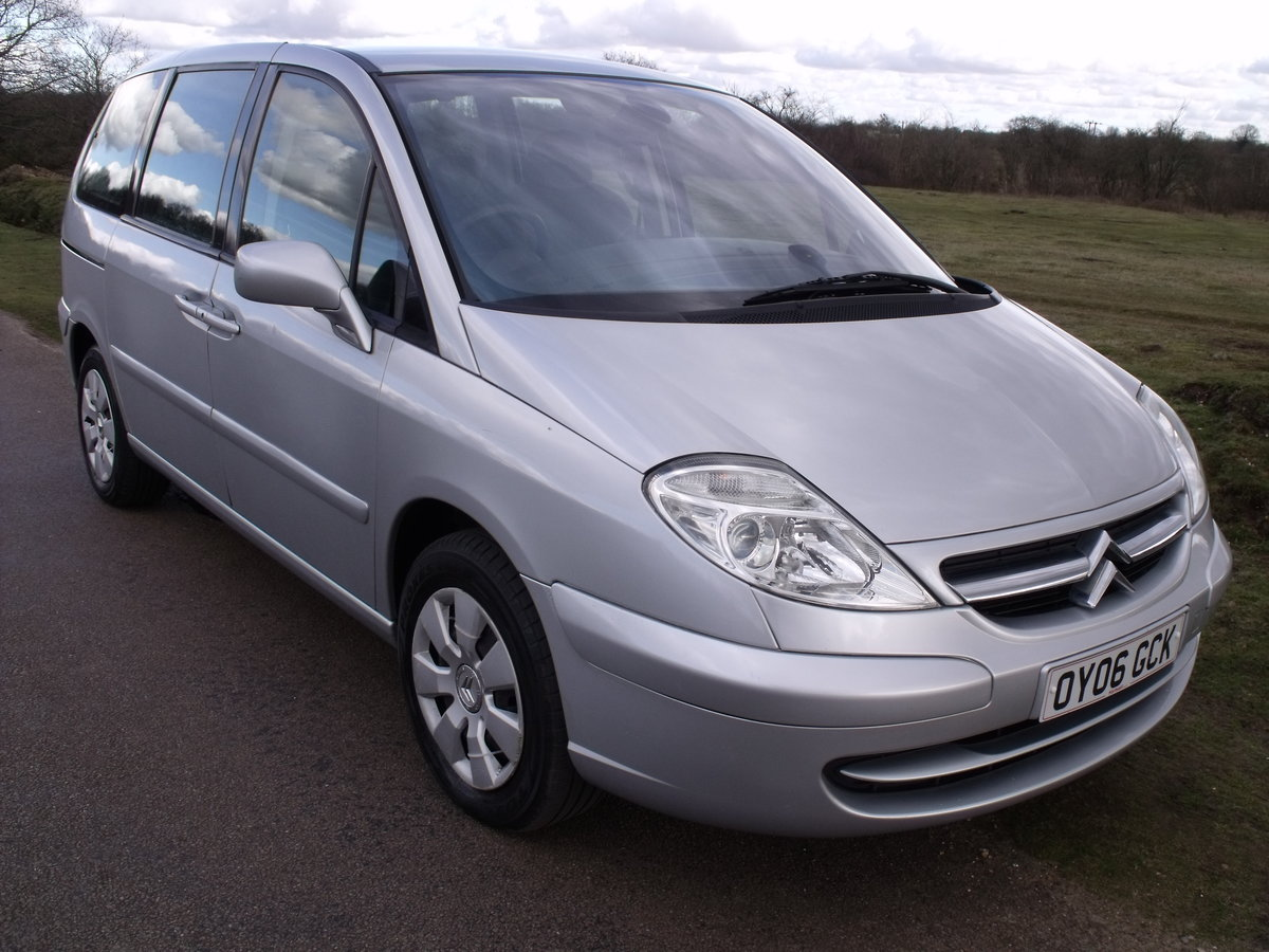 2006 (06) CITROEN C8 2.2HDi  7 SEATER A/C ELEC DOORS SOLD (picture 2 of 6)