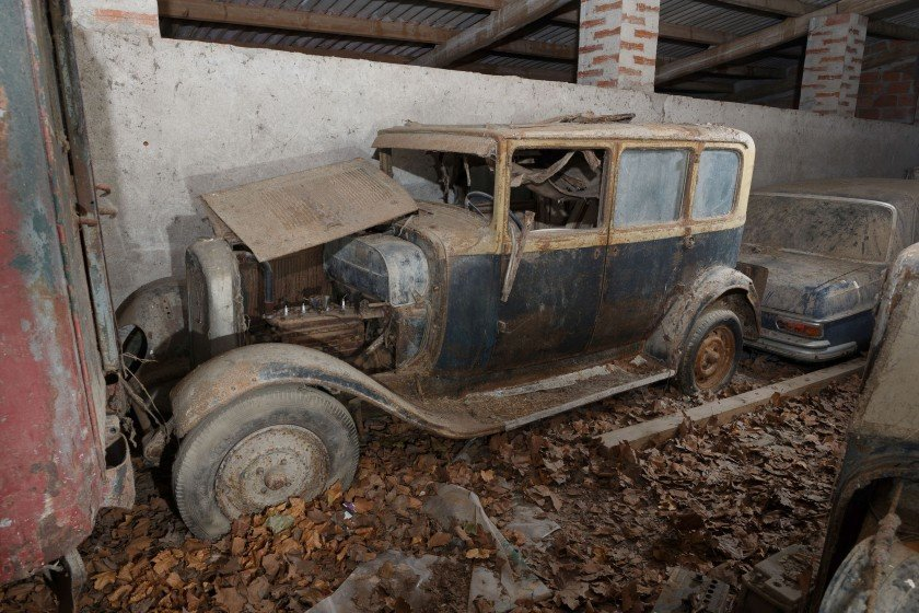 Circa 1930 Citroën C4 berline six glaces - No reserve For Sale by Auction (picture 1 of 6)