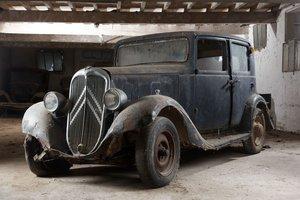 1934 Citroën Rosalie 10 BL Berline - No reserve For Sale by Auction