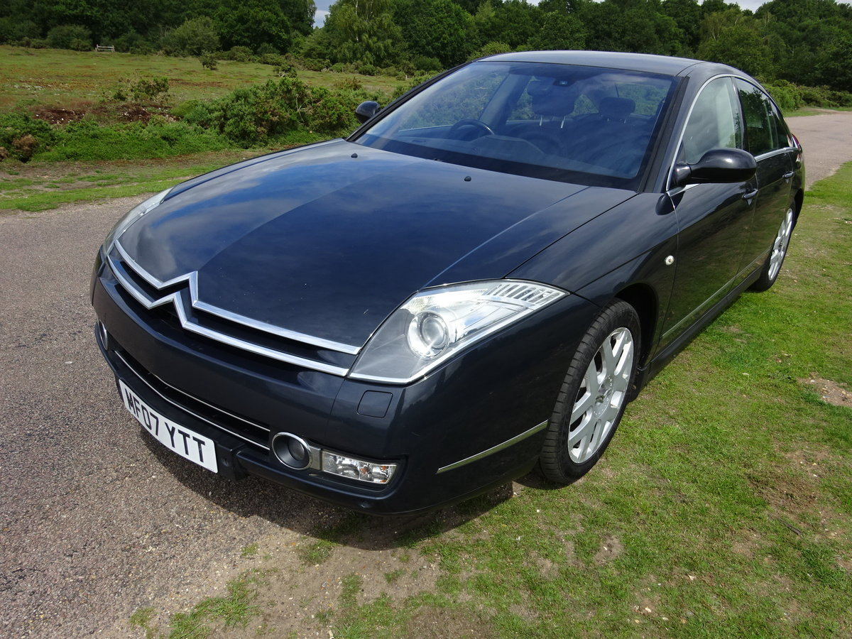 2007 (57) CITROEN C6 2.7HDi V6 (208) ,AUTO,LEATHER, FSH SOLD (picture 1 of 6)