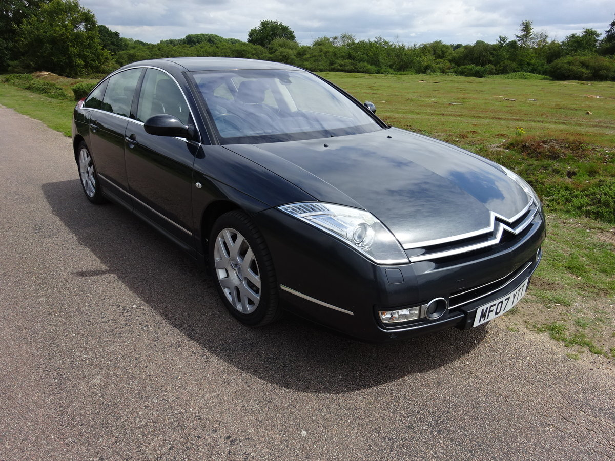 2007 (57) CITROEN C6 2.7HDi V6 (208) ,AUTO,LEATHER, FSH SOLD (picture 2 of 6)