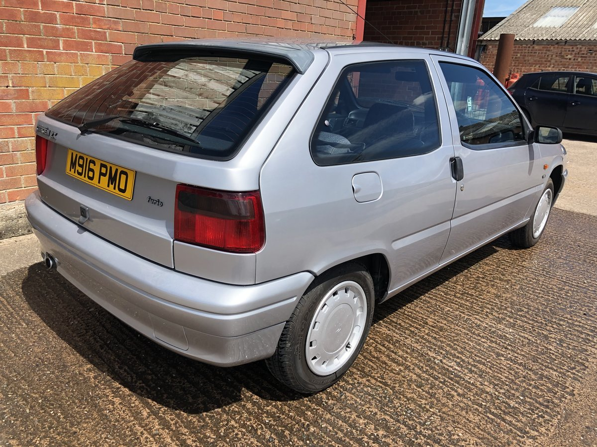 1994 Citroen ZX Furio - super rare with only 22k miles For Sale (picture 3 of 6)