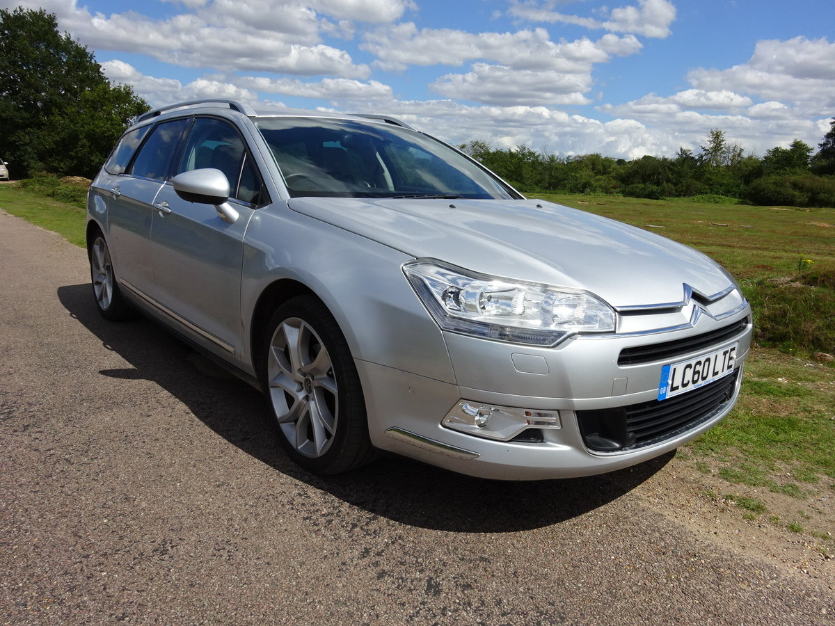 2010 CITROEN C5 2.0HDi ( 160bhp ) EXCLUSIVE, HALF LEATHER, 6 SPD For Sale (picture 2 of 6)