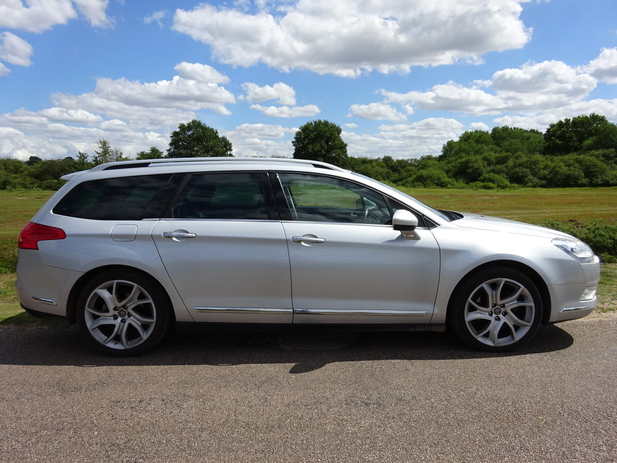 2010 CITROEN C5 2.0HDi ( 160bhp ) EXCLUSIVE, HALF LEATHER, 6 SPD For Sale (picture 3 of 6)