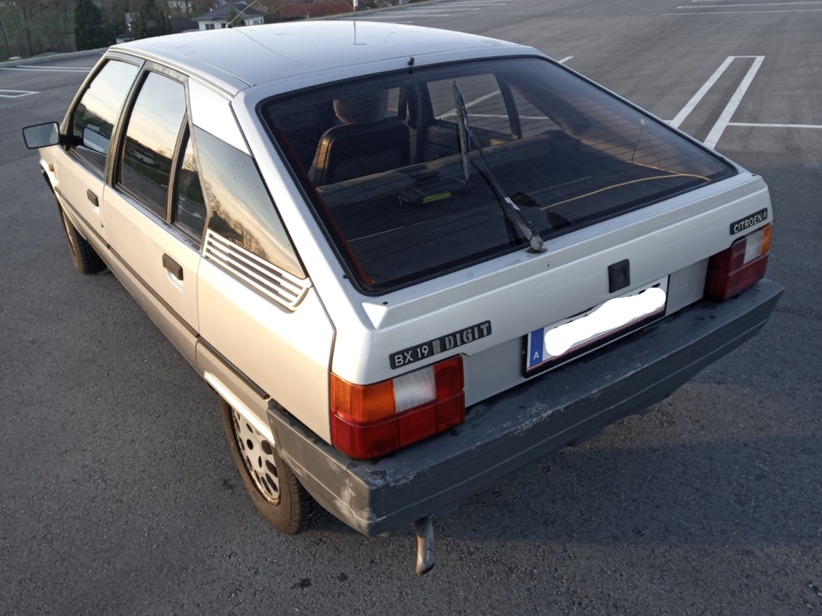 Citroen BX DIGIT 1986, 105hp For Sale (picture 2 of 6)