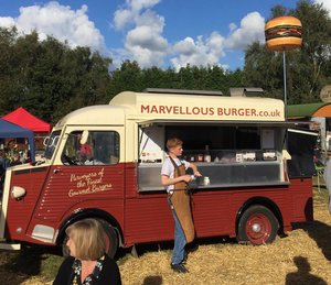 Citroen H Van Burger catering conversion