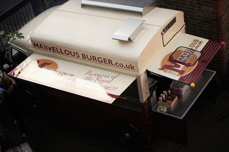 1966 Citroen H Van Burger catering conversion For Sale (picture 2 of 3)