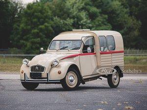 1966 Citron 2CV Van