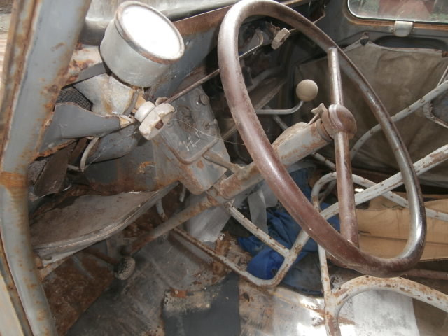 1959 Citroen 2cv AZU ripple van with patination! SOLD (picture 2 of 6)