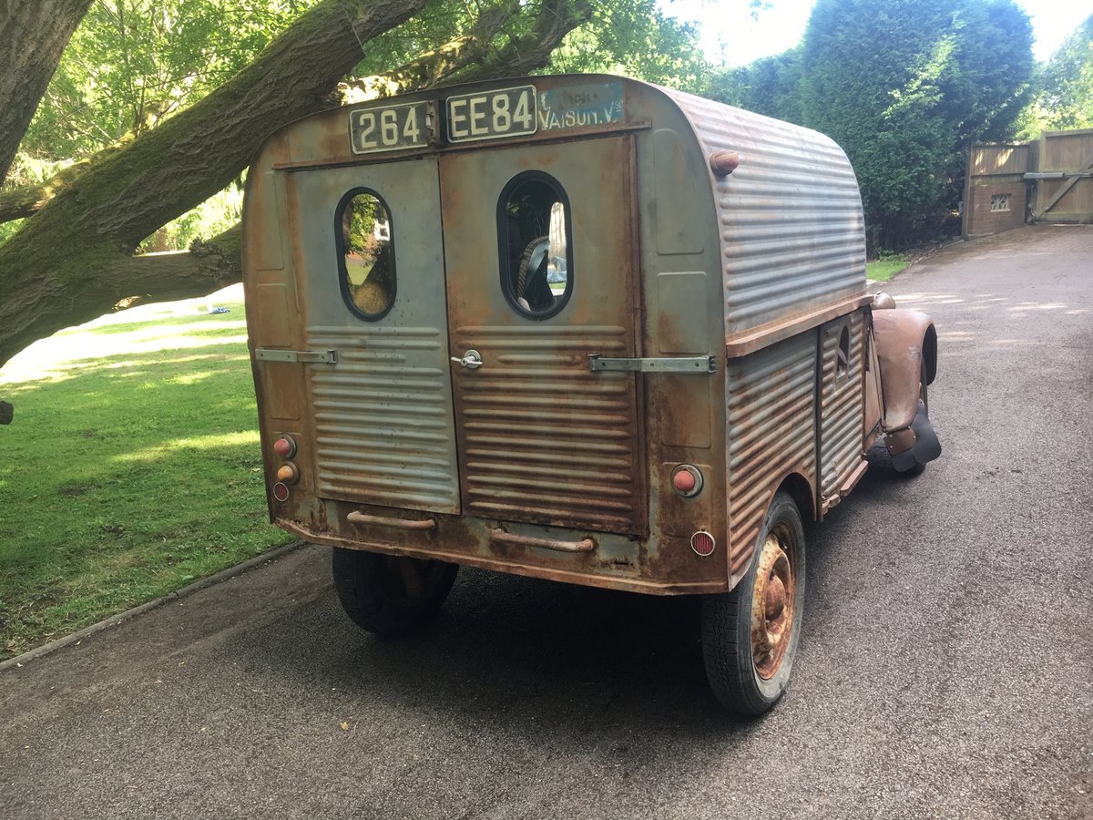 1959 Citroen 2cv AZU ripple van with patination! SOLD (picture 6 of 6)