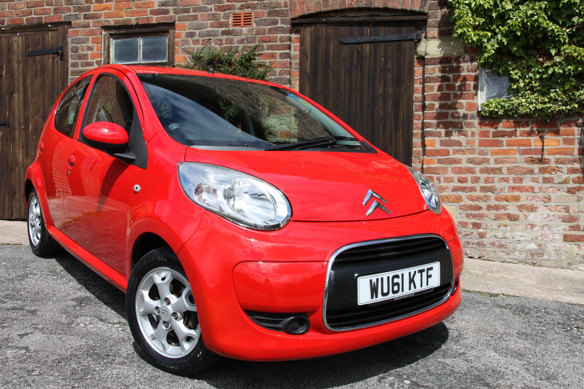 2011'61 Citroen C1 1.0 VTR+ 5dr FSH, Air Con, £20 Road Tax  For Sale (picture 1 of 6)
