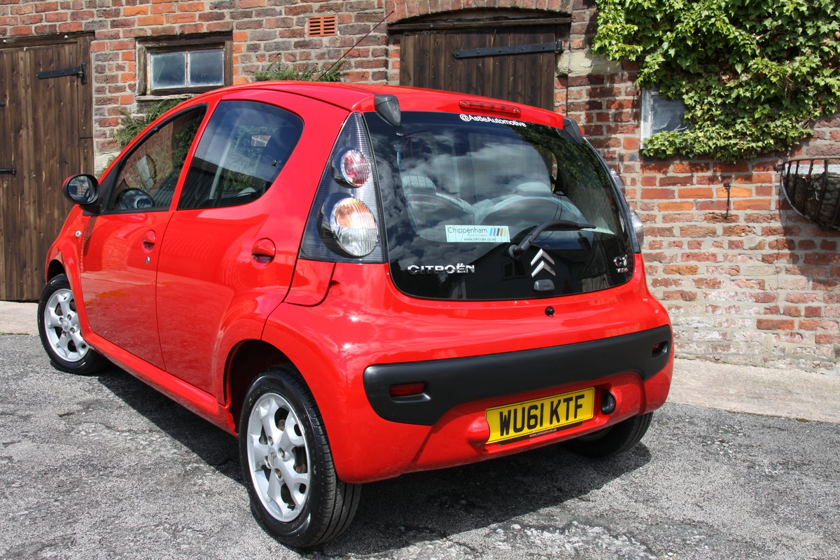 2011'61 Citroen C1 1.0 VTR+ 5dr FSH, Air Con, £20 Road Tax  For Sale (picture 2 of 6)