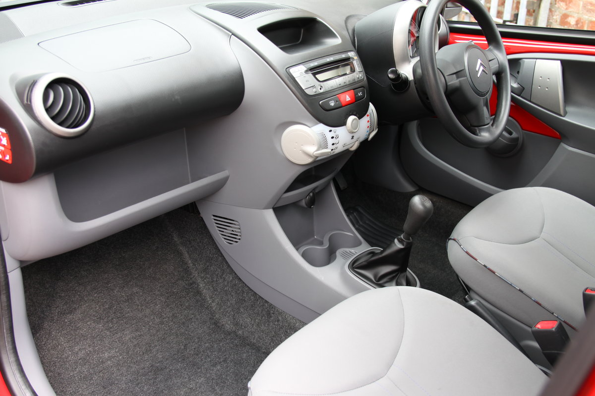 2011'61 Citroen C1 1.0 VTR+ 5dr FSH, Air Con, £20 Road Tax  For Sale (picture 4 of 6)