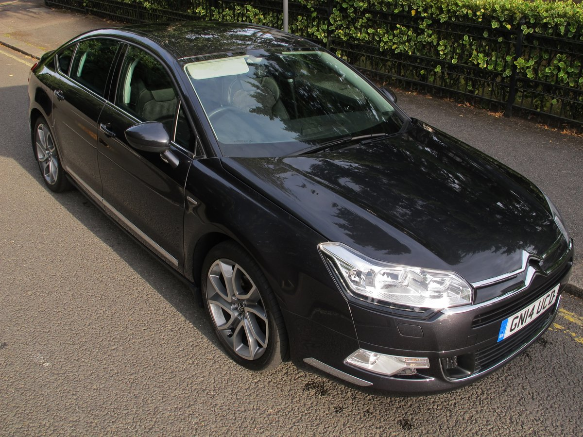 CITROEN C5 2.0 HDi 160 SALOON 2014/14 - 15500m - WONDERFUL   For Sale (picture 1 of 6)