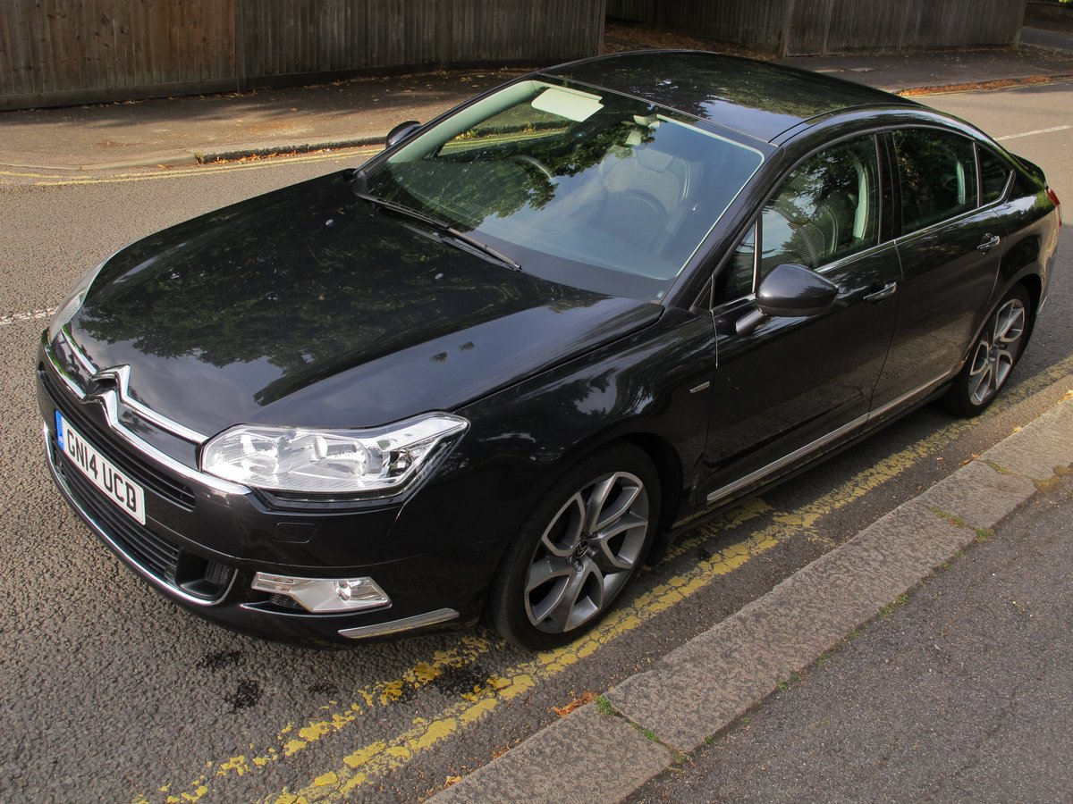 CITROEN C5 2.0 HDi 160 SALOON 2014/14 - 15500m - WONDERFUL   For Sale (picture 2 of 6)