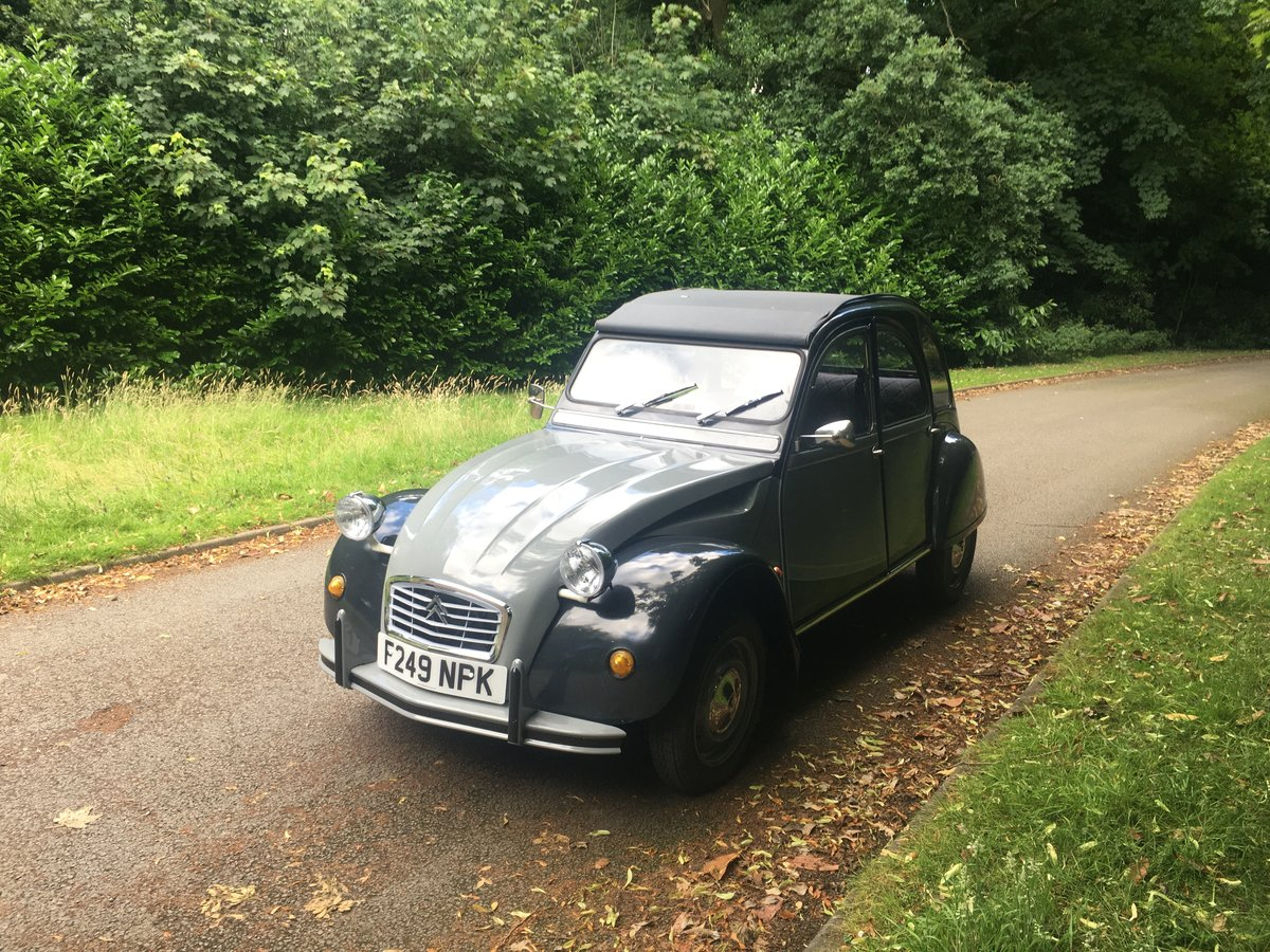 1988 Citroen 2cv Charleston SOLD (picture 1 of 6)