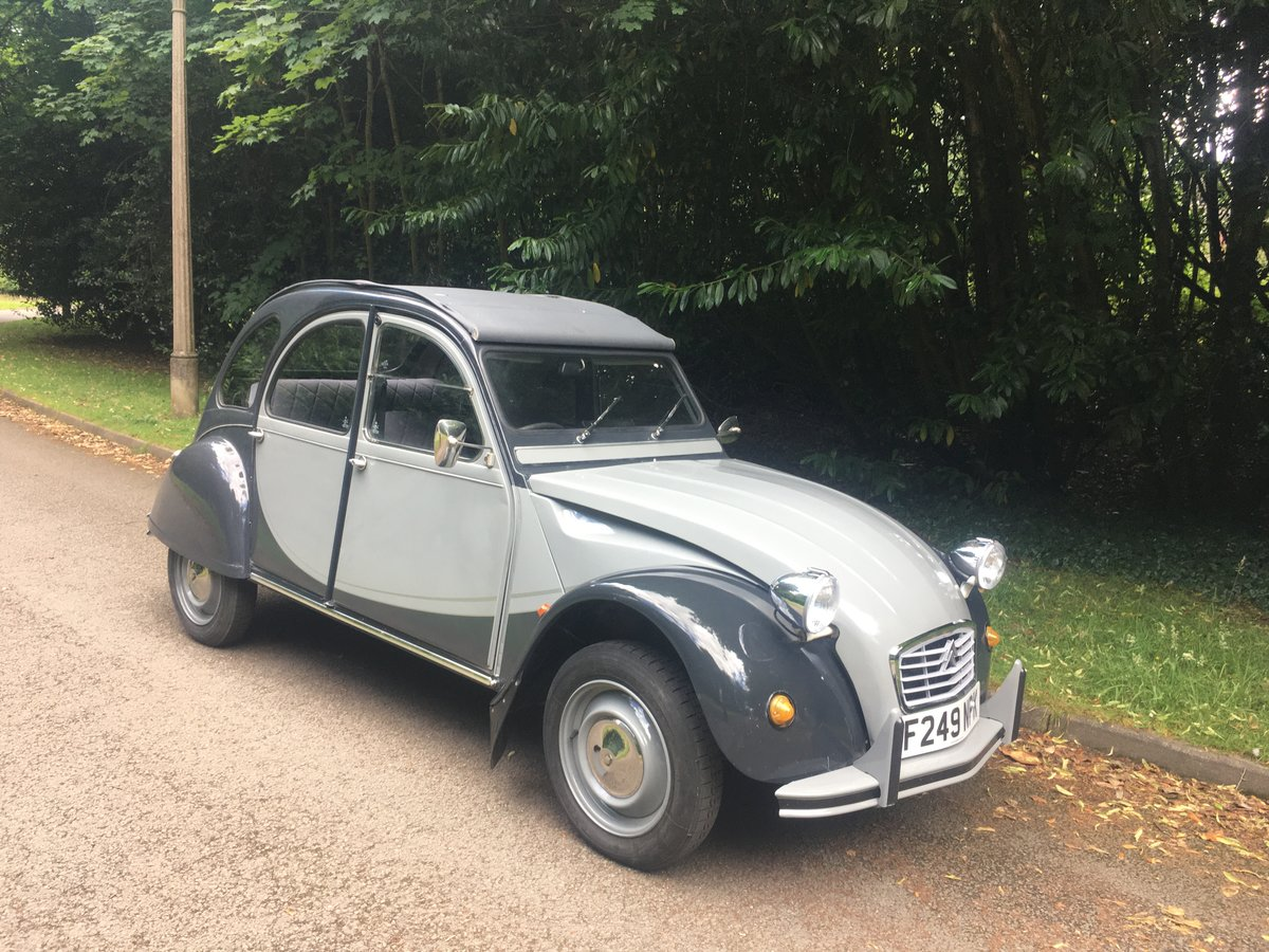 1988 Citroen 2cv Charleston SOLD (picture 2 of 6)